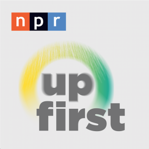 NPR Up First podcast logo